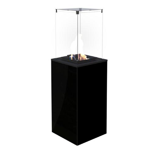 Газовый нагреватель PATIO/M/G31/37MBAR/CZ - черное стекло, с ручным управлением