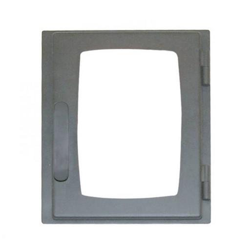 Дверца каминная ДВ285-1Б стальная