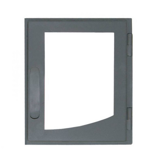 Дверца каминная ДВ285-1П стальная