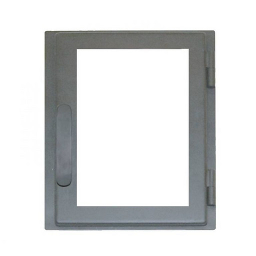 Дверца каминная ДВ285-1С стальная