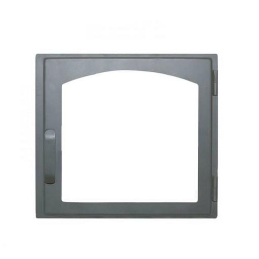 Дверца каминная ДЕ424-1А стальная