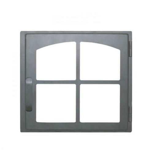 Дверца каминная ДЕ424-1К стальная