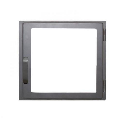 Дверца каминная ДЕ424-1С стальная