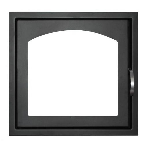 Дверца каминная ДК555-1А  стальная