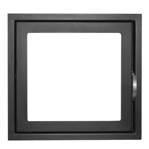 Дверца каминная ДК555-1С стальная
