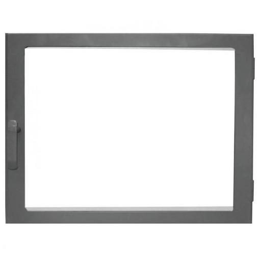 Дверца каминная ДК690-1С  стальная