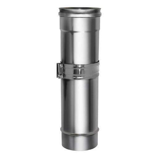 Труба телескопическая L260-400 мм, без изоляции, Дымок