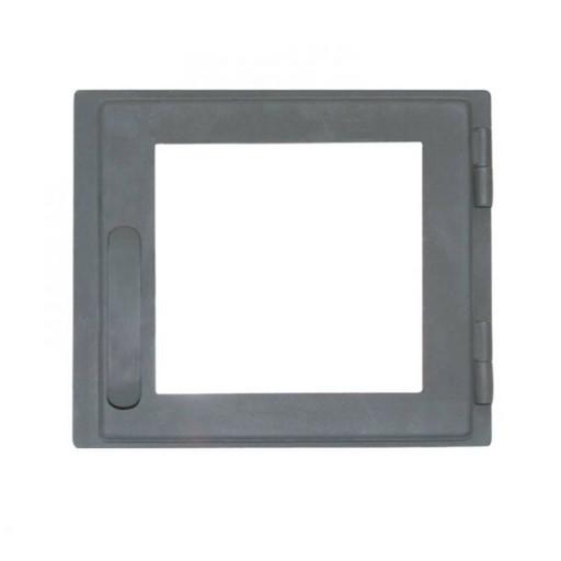 Дверца каминная ДП308-1С стальная