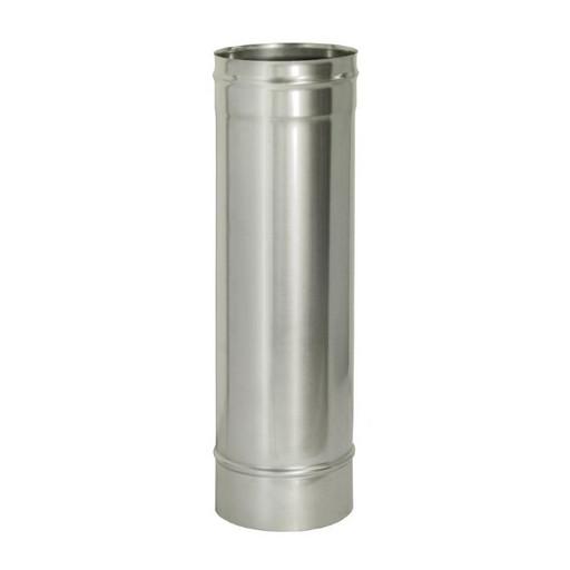 Труба прямая L1000 без изоляции (0,8 мм), Дымок