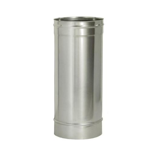 Труба прямая L500 без изоляции (0,8 мм), Дымок