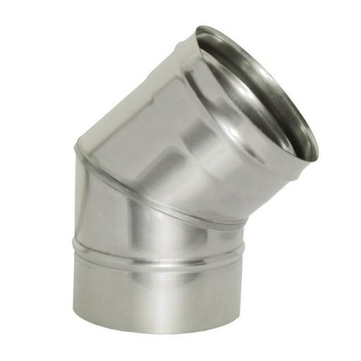 Отвод 45 без изоляции (0,8 мм), Дымок