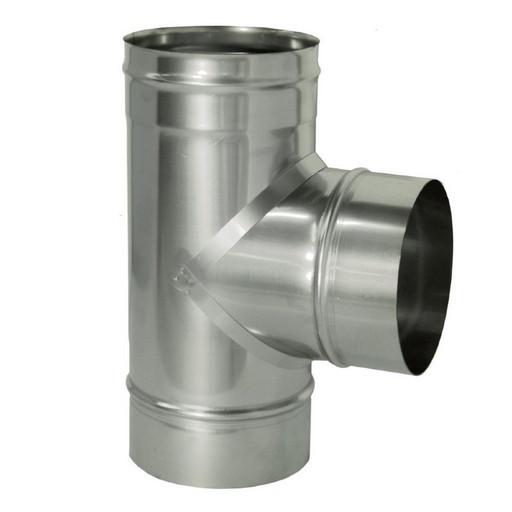 Тройник 90 без изоляции (0,5 мм), Дымок