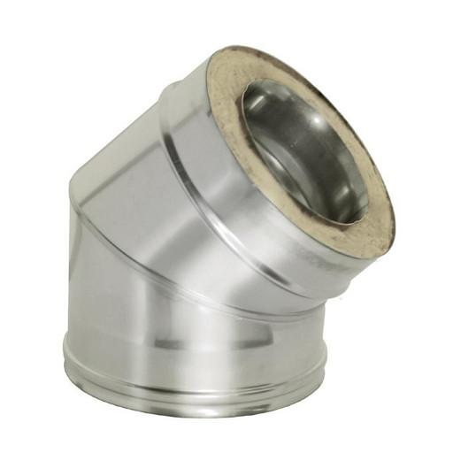 Отвод 45 с изоляцией (0,8 мм), Дымок
