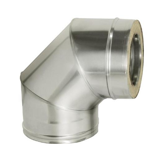 Отвод 90 с изоляцией (0,8 мм), Дымок