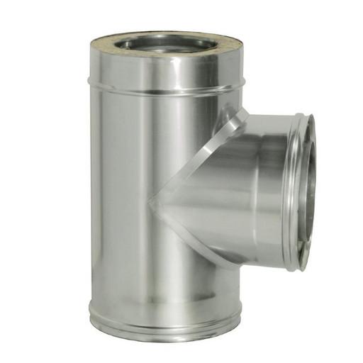 Тройник 90 с изоляцией (0,8 мм), Дымок