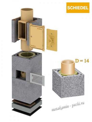 Schiedel Uni D140 без вент канала
