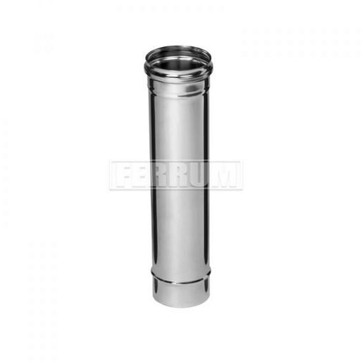 Труба 1 м Aisi 430 0,8 мм