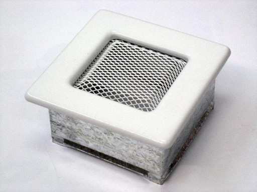 Вентиляционная решетка 11х11 белая