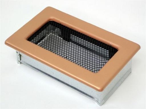 Вентиляционная решетка 11х17 гальваника под медь