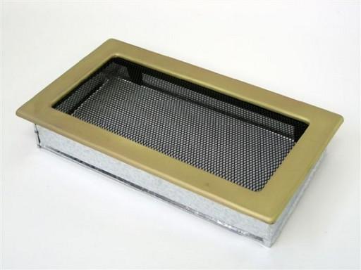Вентиляционная решетка 17х30 гальваника под золото