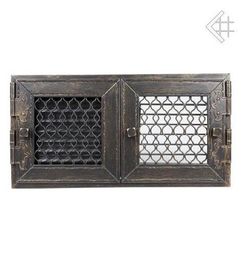 Ретро графит с двумя дверками открывающаяся 17х17