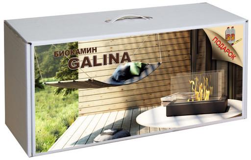 Набор с биокамином GALINA, биотопливом(2шт.х1.5л.), зажигалкой