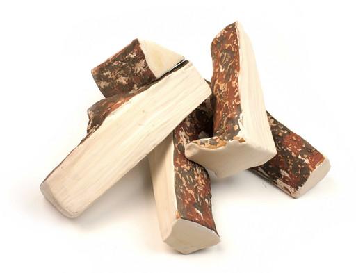 Керамические дрова сосна колотая (ZeFire) - 5 шт