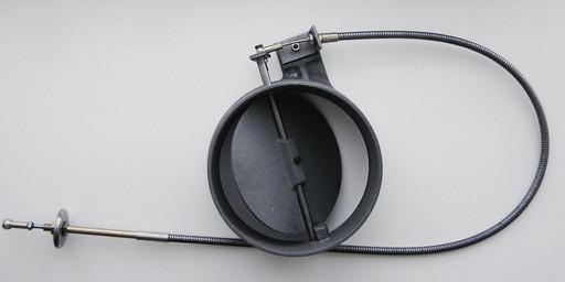 Заслонка шиберная INVICTA с гибкой тягой D230 mm