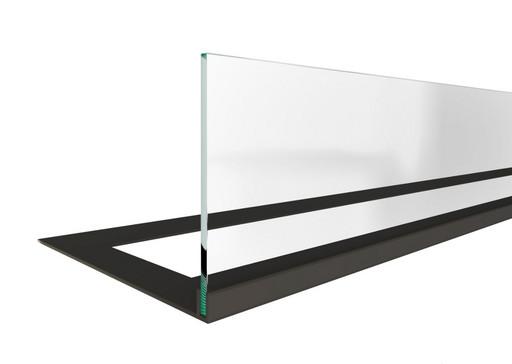 Стекло декоративное для биокамина серии Standart 800 для встраивания в портал (ZeFire)