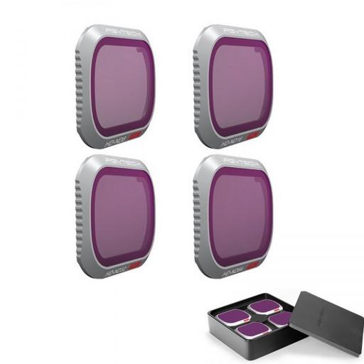 Набор Pgytech нейтрально-поляризационных фильтров (ND-PL8/ND-PL16/ND-PL32/ND-PL64) для DJI Mavic 2 Pro (Professional)