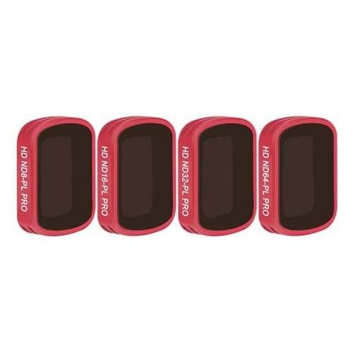 Набор фильтров для Osmo Pocket PGYTECH Professional (ND-PL8/ND-PL16/ND-PL32/ND-PL64)