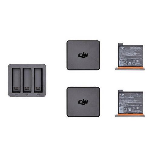 Зарядное устройство + 2 аккумулятора для DJI Osmo Action Charging Kit (Part 6)