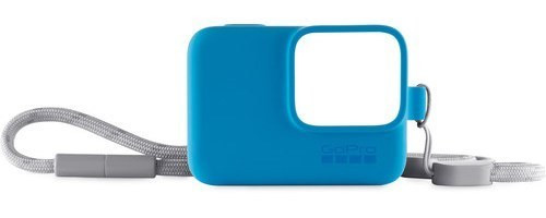 Силиконовый чехол с ремешком Sleeve + Lanyard GoPro (blue)