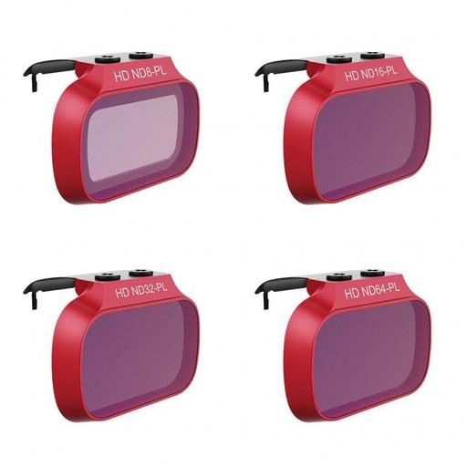Набор оптических фильтров PGYTECH для Mavic Mini (ND8-PL, ND16-PL, ND32-PL, ND64-PL)