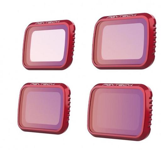Набор оптических фильтров PGYTECH для Mavic Air 2 (ND 8,16,32,64)