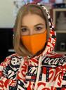 Оранжевые маски