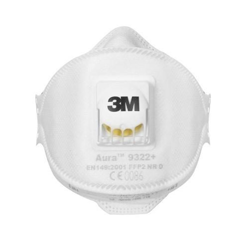 Маска респиратор 3M Aura 9322+ класс защиты FFP2