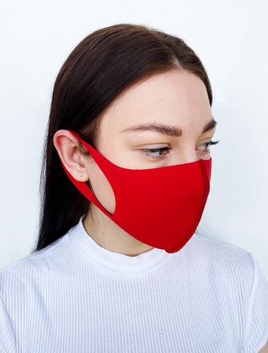 Красная неопреновая маска