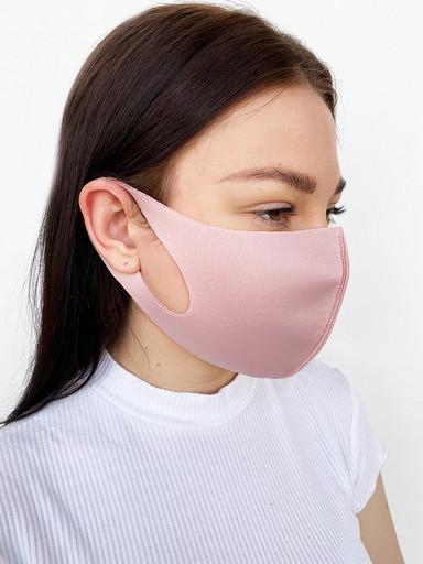 Розовая неопреновая маска