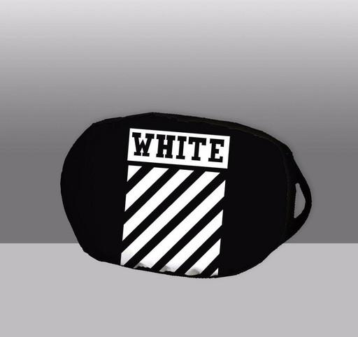 """Маска тканевая с рисунком """"Off-White Black"""""""