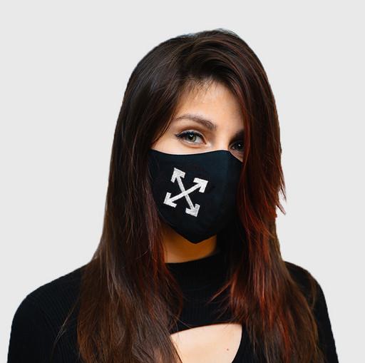 Хлопковая маска для лица Off-White