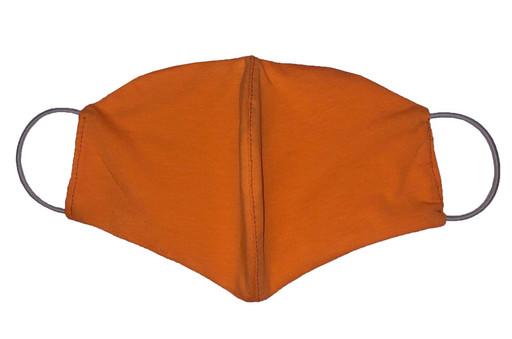 Двухслойная оранжевая маска