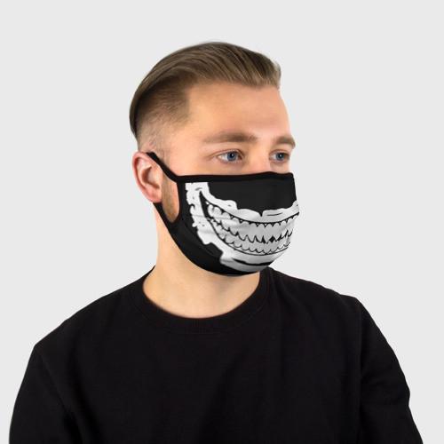 """Многоразовая тканевая маска """"Sharp teeth"""""""