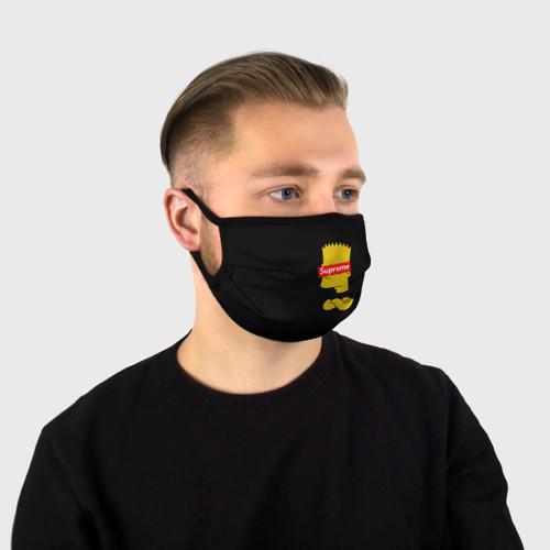 """Многоразовая тканевая маска """"El Barto"""""""