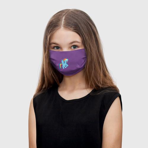 "Детская маска тканевая ""Радуга Дэш"""