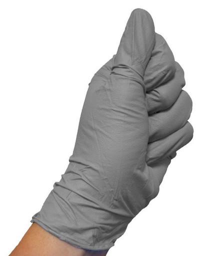 Набор нитриловых серых перчаток (от 10 шт.)