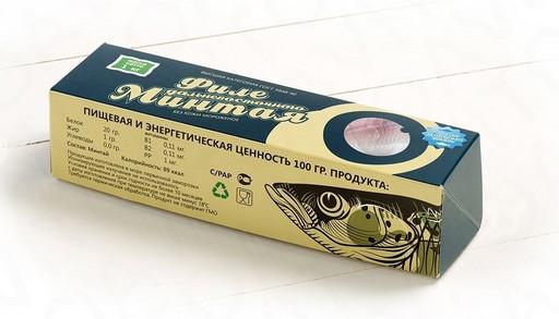 МИНТАЙ филе (упаковка 1 кг)