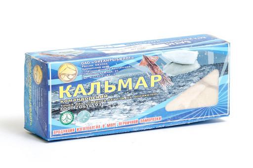 КАЛЬМАР филе (упаковка 1 кг)