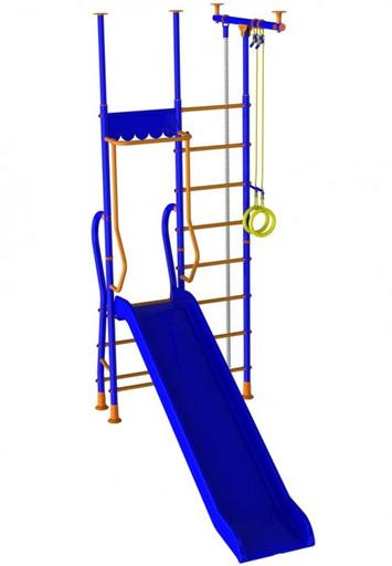 Детский спортивный комплекс «Веселый Непоседа» с горкой