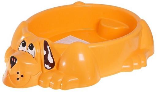 Детская песочница-бассейн «Собачка» 373